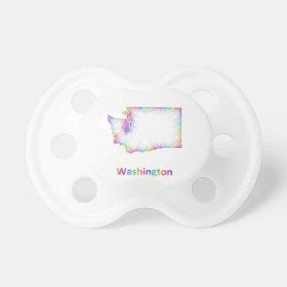 Rainbow Washington map Pacifiers