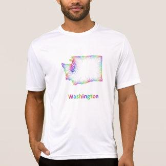 Rainbow Washington map T-Shirt