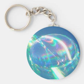 Rainbow Water Drop Keychain