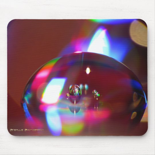 Rainbow Water Drops (Mousepad) Mouse Pad