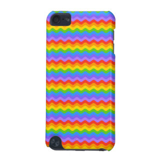 Rainbow Wave Stripes. iPod Touch 5G Covers