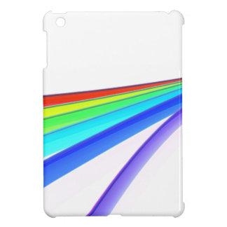 Rainbow waves iPad mini case