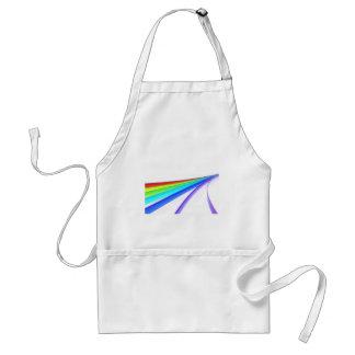 Rainbow waves standard apron
