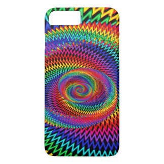 Rainbow  Wavy Spiral Phone Case