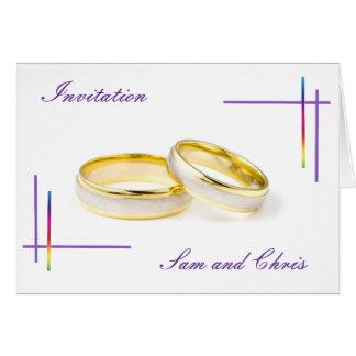 Rainbow Wedding Template
