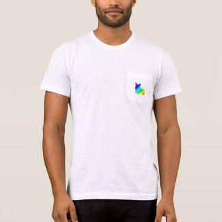 Rainbow Welsh Corgi T-Shirt