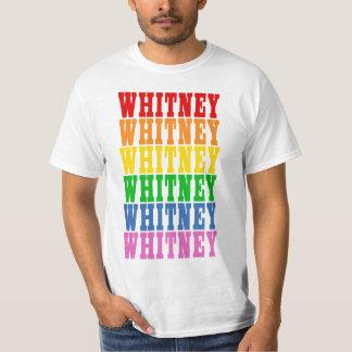 Rainbow Whitney T-Shirt