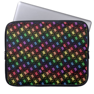 Rainbow Windmills Laptop Case Laptop Sleeve