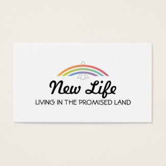Rainbow Winged Dove (soft) Business Card
