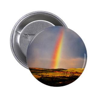 Rainbow wish come true 2 inch round button