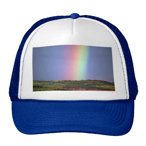 Rainbow wish come true trucker hats
