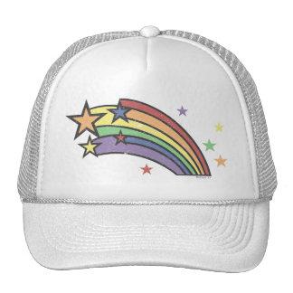 Rainbow with Stars Hats