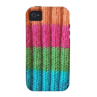 rainbow Wool Sock iPhone 4/4S Case