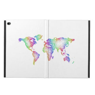 Rainbow World map Powis iPad Air 2 Case