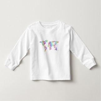 Rainbow World map Toddler T-shirt