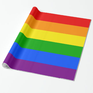"""""""RAINBOW"""" WRAPPING PAPER"""