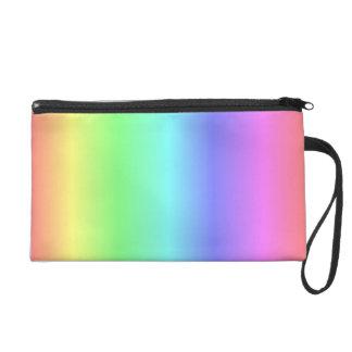 Rainbow Wristlet Clutches