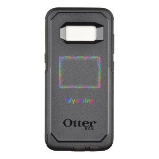 Rainbow Wyoming map OtterBox Commuter Samsung Galaxy S8 Case