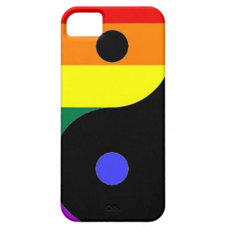 Rainbow Yin and Yang - LGBT Pride Rainbow Colors Case For The iPhone 5