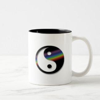 Rainbow Yin Yang Mug