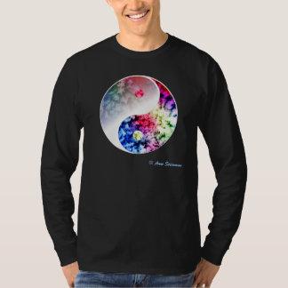 Rainbow Yin Yang T-Shirt