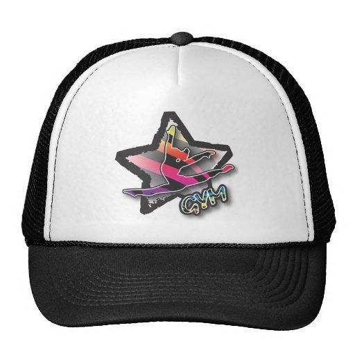 Rainbow Zebra Gymnastics Hat