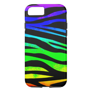 Rainbow Zebra iPhone 8/7 Case