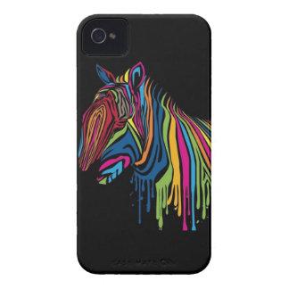 Rainbow Zebra iPhone Case