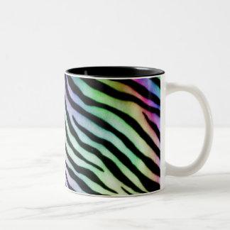 rainbow zebra Mug