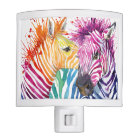 Rainbow Zebra Night Light