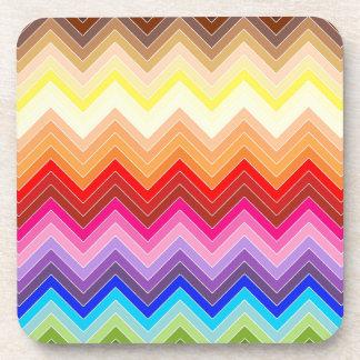 Rainbow Zig Zag Coaster