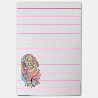Rainbowbunny Post-it Notes