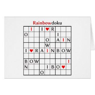 rainbowdoku card