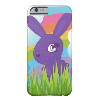 Rainbows and Bunnies Barely There iPhone 6 Case