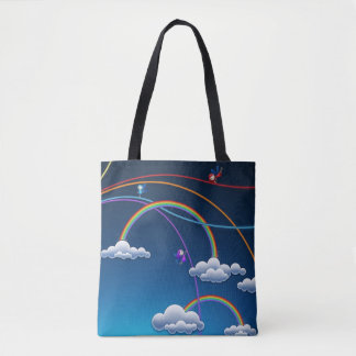 Rainbows & Angels Tote Bag