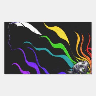 Rainbows In Her Hair