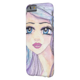 Rainbows in her hair barely there iPhone 6 case