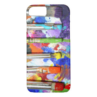 Rainbows In Progress Paint Brush Photography iPhone 7 Case