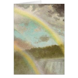 Rainbows of Niagara Falls Card