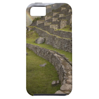 Rainbows over the agricultural terraces, Machu Case For The iPhone 5