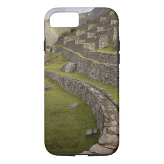 Rainbows over the agricultural terraces, Machu iPhone 7 Case
