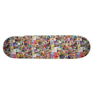 rainbows, rainbows, rainbows, rainbows, rainbows skateboard