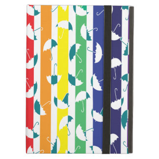 Rainbows umbrella iPad Air case