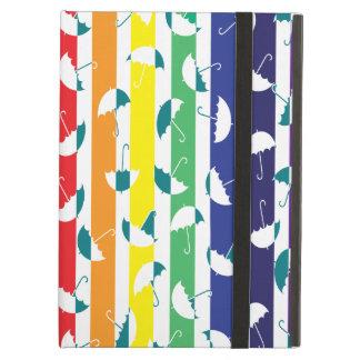 Rainbows umbrella iPad Air case