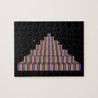 RAINBOX PYRAMID 8x10 Photo Puzzle with Gift Box