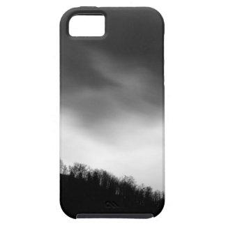 Rainclouds over church iPhone 5 case