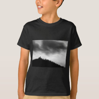 Rainclouds over church T-Shirt