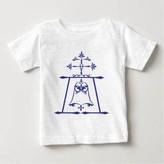 Raincross - Blue - Connie Lea Design Baby T-Shirt