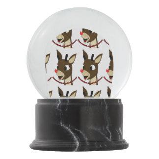 Raindeer Snow Globe