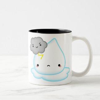 Raindrop Puddle w/ Thundercloud Mug